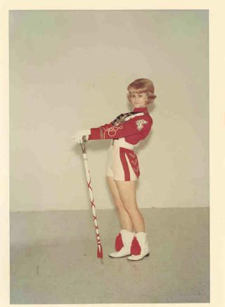 Vintage Majorette Uniform