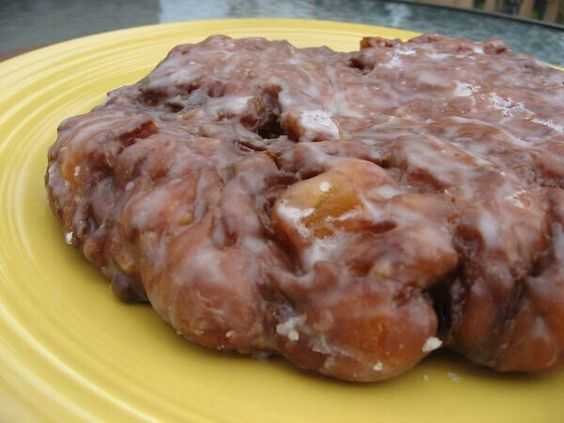 Apple fritters, Fritters and Apple fritter recipes on Pinterest