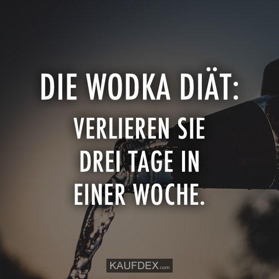Wodka-Diäten