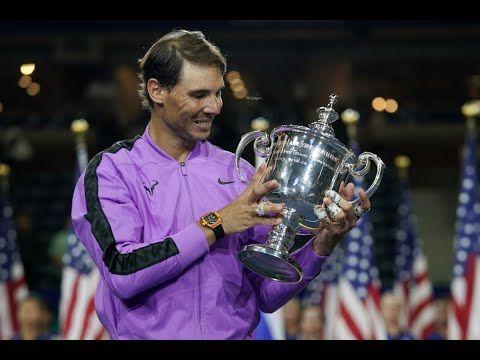 Us Open 2019 Final Men S Finals Closing Ceremony Rafael Nadal Ceremony Us Open