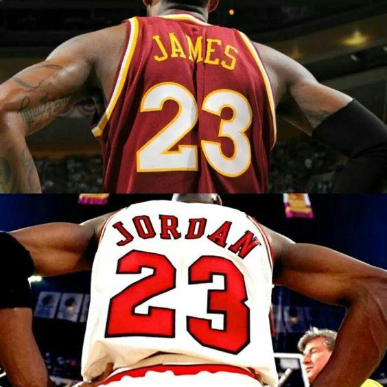 King James and Air Jordan