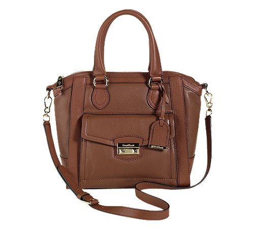 I simply adore this Cole Haan Zoe Small Structured Satchel - www.colehaan.com