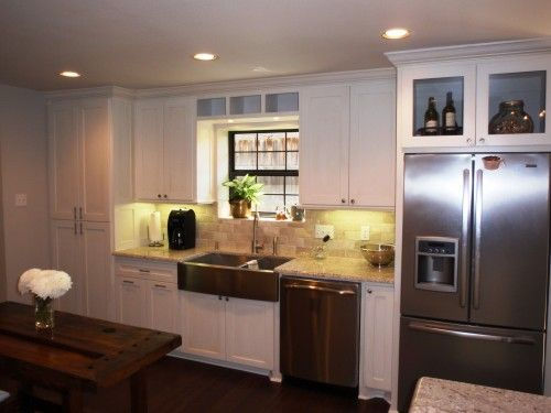 Double Sided Farmhouse Sink : house type sink and more traditional kitchens dallas farms sinks ...