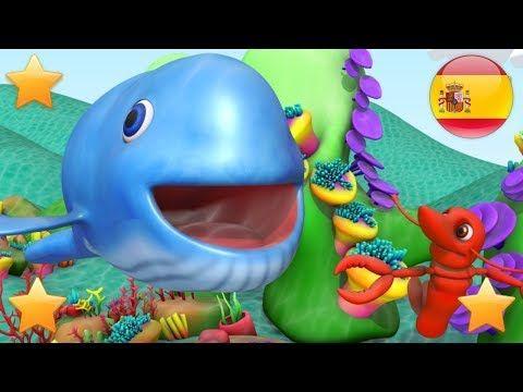 La Gran Ballena Azul Rimas Para Ninos Para Bebes Canciones Infantiles Big Blue Whale Youtube Canciones Infantiles Canciones Para Bebes Canciones
