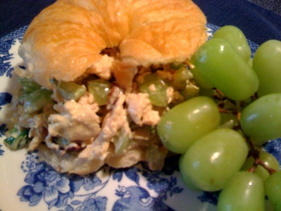 Sweet Tea and Cornbread: Curried Chicken Salad!