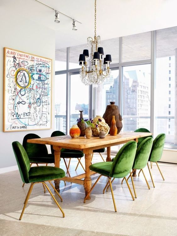 Dining Tables Ideas For A Luxury Dining Room In 2020 Funky Dining Room Dining Room Design Modern Contemporary Dining Room Lighting