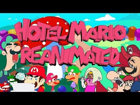 The Hotel Mario Reanimated Collab Youtube With Images Mario