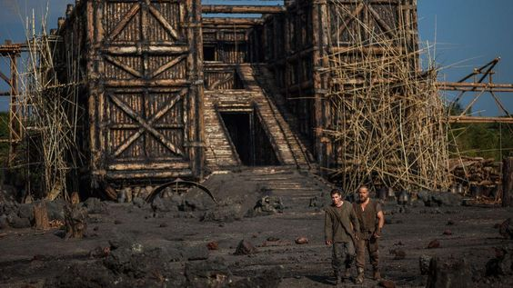 'Noah': An Ark for Animals, God and Russell Crowe~ The Ark for this movie survived Katrina during filming.  What a fortress :)