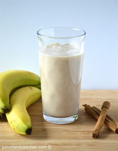 Banana cinnamon smoothie