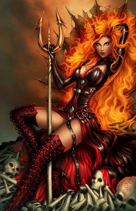demon lover fantasy art erotic