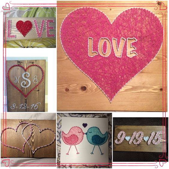 Order Valentine's Day boards from KiwiStrings! www.KiwiStrings.etsy.com ❤️❤️❤️❤️❤️