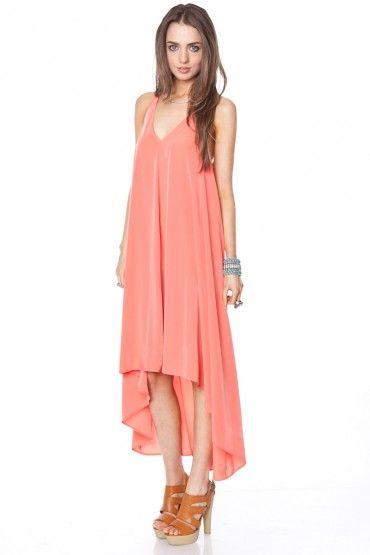 Dress/coral.