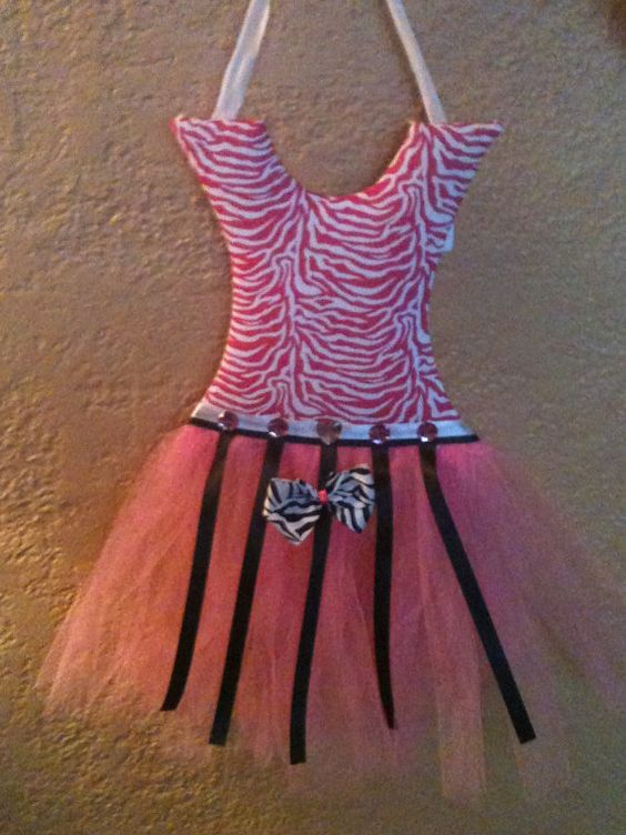 Bowholder  Pink Zebra Print by pocketfulofposiesbou on Etsy, $20.00