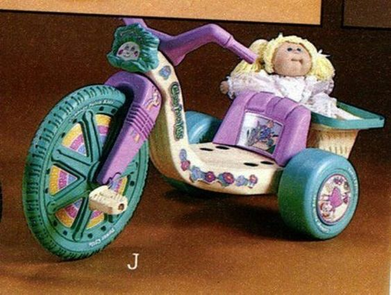 Cabbage Patch Kid Big Wheel  - got one for my 3rd b-day, what great fun!