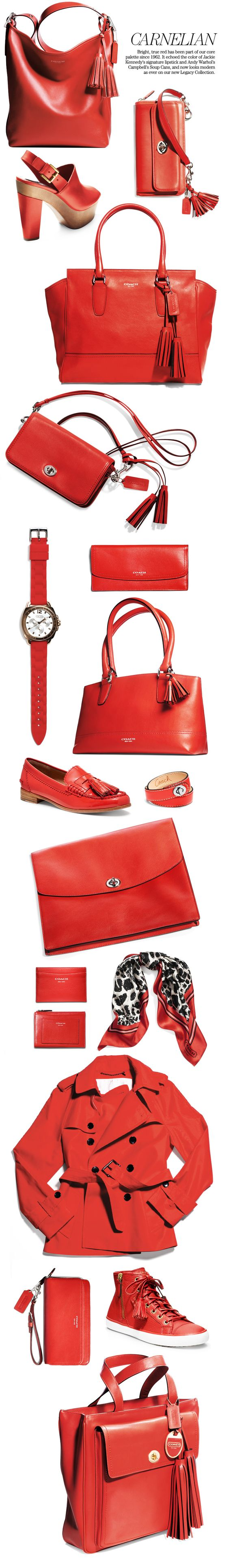 Coach Legacy Collection in Carnelian: See it All