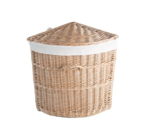 Laundry Basket August Grove In 2020 Corner Laundry Basket Woven