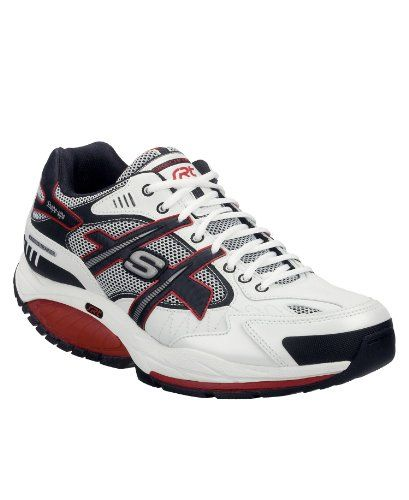 Skechers Kinetix Masterson White SIZE 8 >>> Details can be found by clicking on the image.