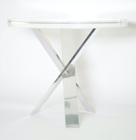 Trinity Table Base by Posh Photographs