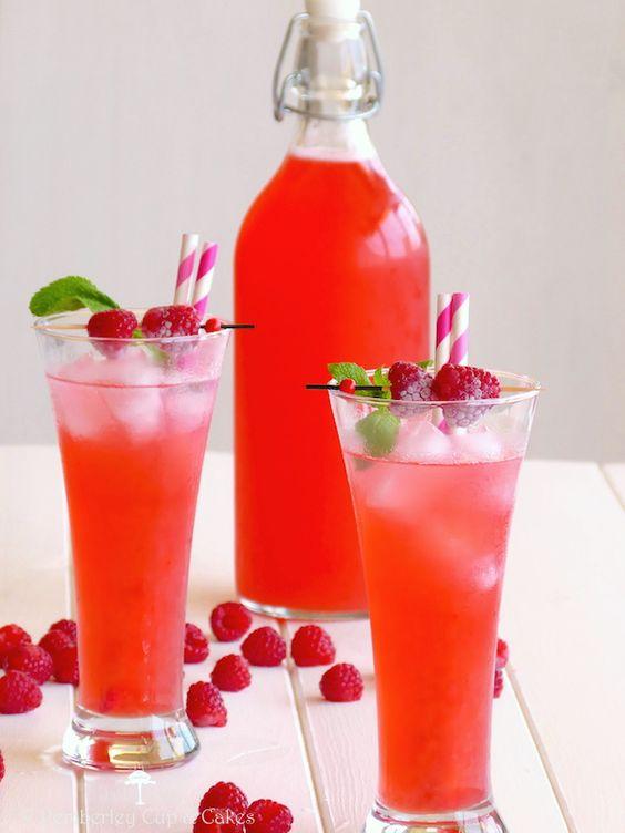 Raspberry Lemonade {Limonada de Frambuesa}