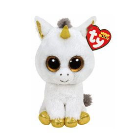 Petite peluche TY Beanie Boos Pegasus la licorne