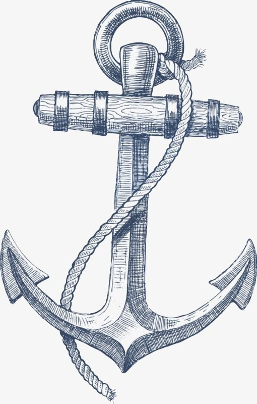 Anchor Ferry Navigation Direction Png Image Anchor Drawings Anchor Png Compass Art