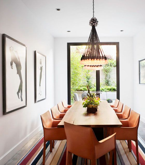 These leather dining chairs.desire to inspire - desiretoinspire.net