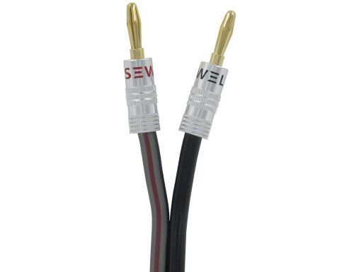 Silverback Speaker Wire By Sewell 12 Awg With Silverback Banana Plugs Ofc 259 Strand Count 25 Ft Read More Reviews Of The Prod Speaker Wire Speaker Homeaudio