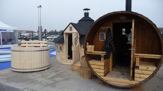 Toujours dans le même concept, Spa Kylpylä, Kota 12 m², et Kylpy sauna 270
