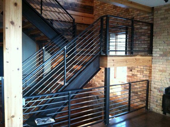 Best Industrial Steel Railing Custom Iron Railings Signs 640 x 480