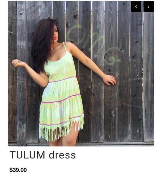 SALE!!!! TULUM $39 embroidered low back summer dress  http://ift.tt/1k8MHGM