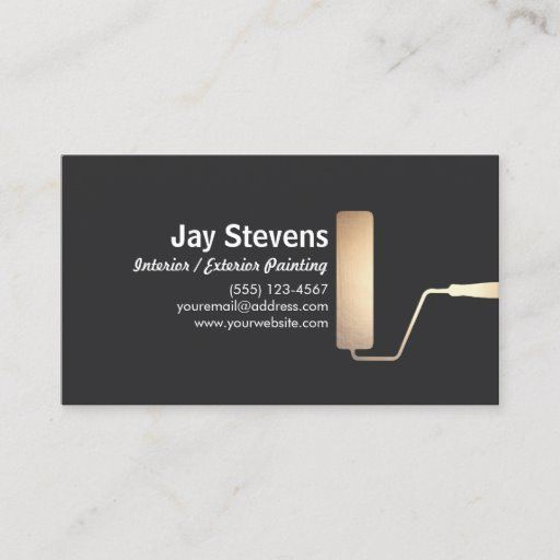 Pin On Black Business Card