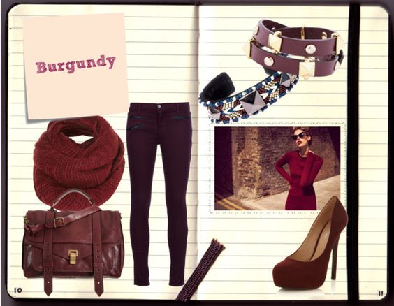 """""""Burgundy"""" by misscriss on Polyvore"""