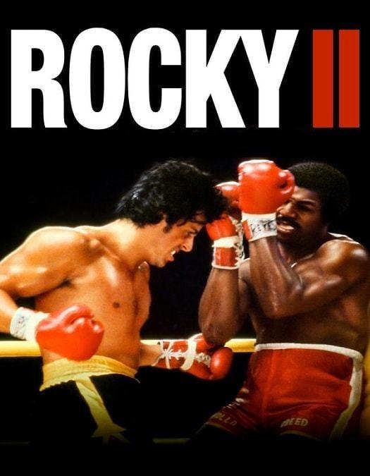 Rocky 2 A Revanche Dublado 1979 Rocky Balboa Filmes Capas De Filmes