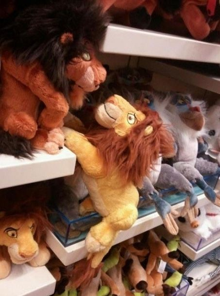 Every time I go to a Disney store...