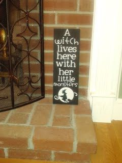 Wooden Signs - Halloween on Pinterest | Halloween Wood Signs ...