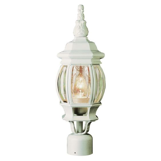 Trans Globe Rochefort 4060 Post Top Lantern - 19.50H in. - 4060 BG