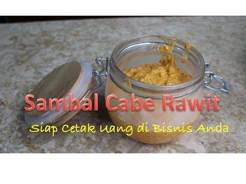 Seri Aneka Sambal 2 Sambal Cabe Rawit Level 6 Ini Siap Cetak Uang Youtube Sambal Sugar Scrub Make It Yourself