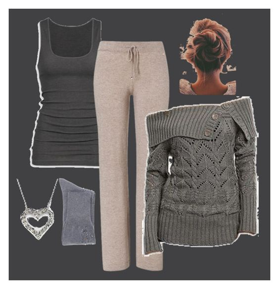 """""""grey days"""" by queenofbabble24 ❤ liked on Polyvore featuring ESCADA, N°21 and Effy Jewelry"""