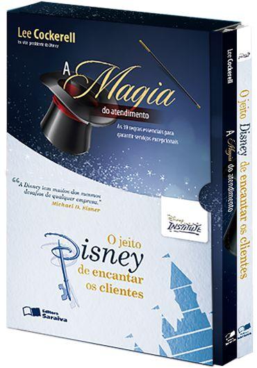 Combo Disney - A Magia do Atendimento + o Jeito Disney de Encantar Clientes
