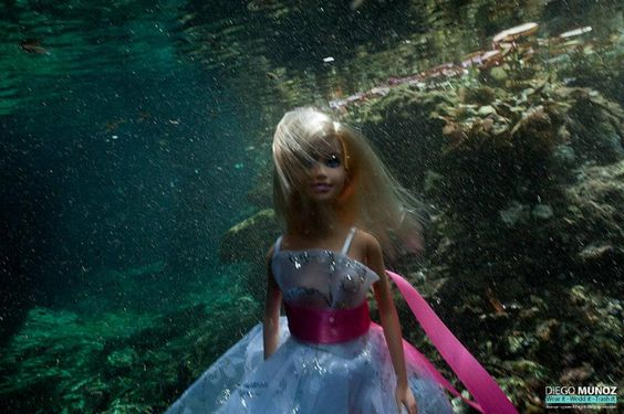 Tulum underwater trash the dress
