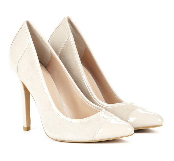 Almond toe pumps - Danika//