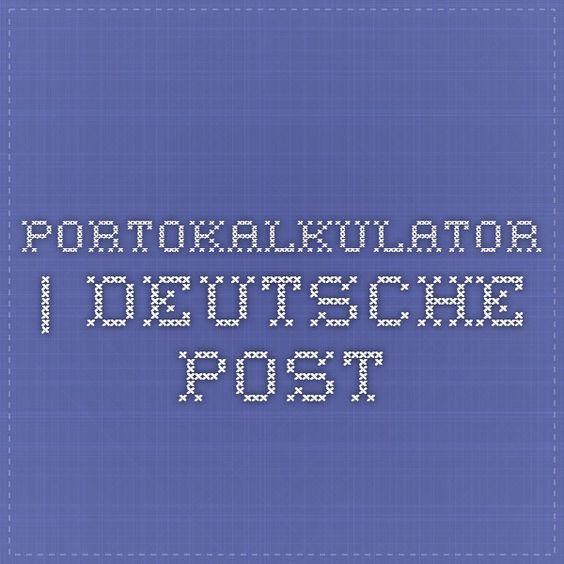 Portokalkulator | Deutsche Post
