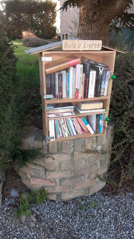 Boîte à livres Dison