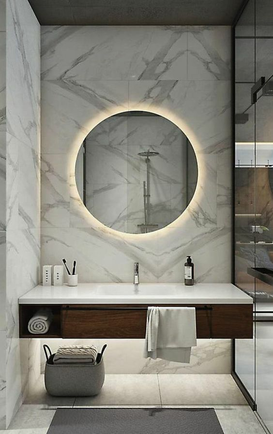 Led Mirror Lights Badkamerdecoratie Badkamer Badkamer Modern