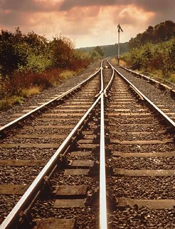 railroad tracks | Grew up on a Railroad Track!: