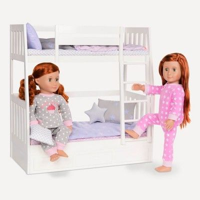 Our Generation Bunk Bed Doll Accessories Bunk Bed Sets Doll