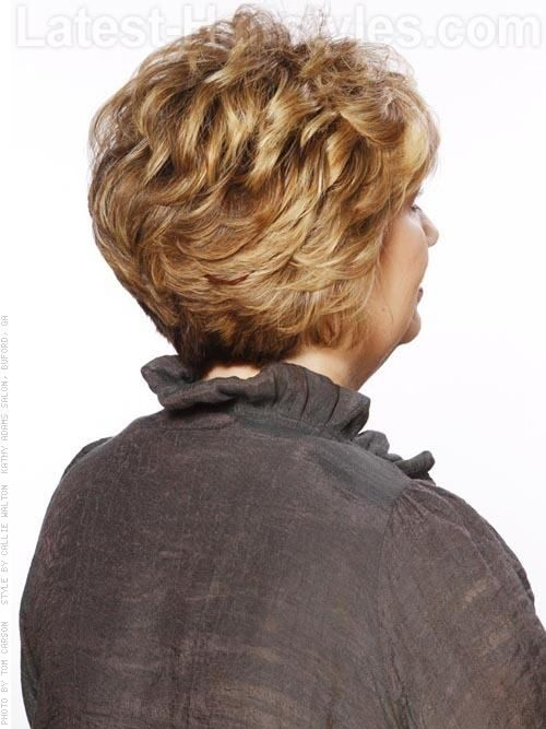 Your Move Wavy Blonde Short Sculpted Cut with Volume - Back View