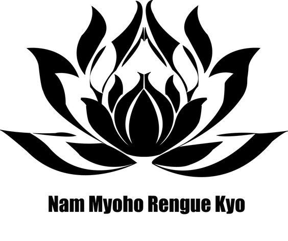 Nam Myoho Rengue Kyo, a base da prática do budismo de Nitiren Daishonin.