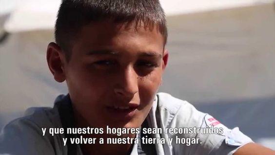 En este vídeo se ve como Hamzah cuenta su éxodo desde una Siria sacudida por la guerra y los bombardeos. A su llegada a Lesbos recibieron los cuidados de los trabajadores de UNICEF.
