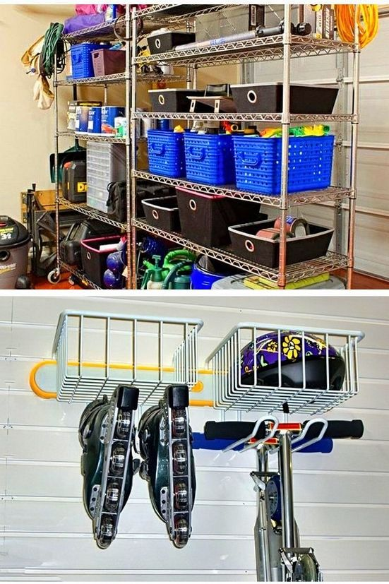 Ideas For Overhead Storage In Garage And Pinterest Garage Storage Ideas Tip 12011919 Garage Storage Storage Overhead Storage